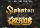 Sabaton and Kreator Announce Tour